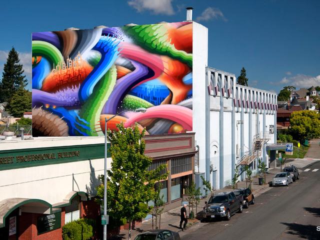 Phoenix Theatre Mural